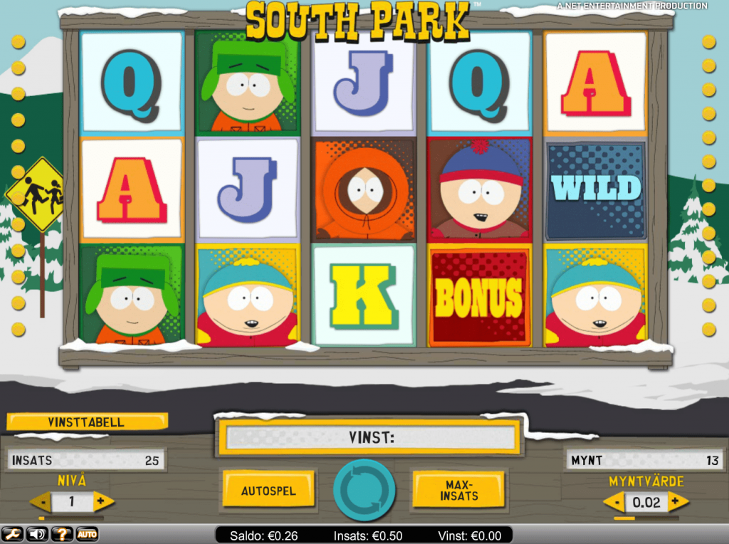 South Park slot Machine
